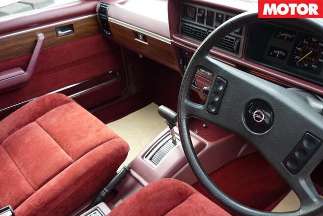 Opel interior