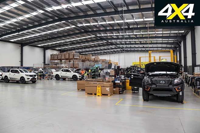 Premcar Nissan Navara N TREK Warrior Factory Jpg