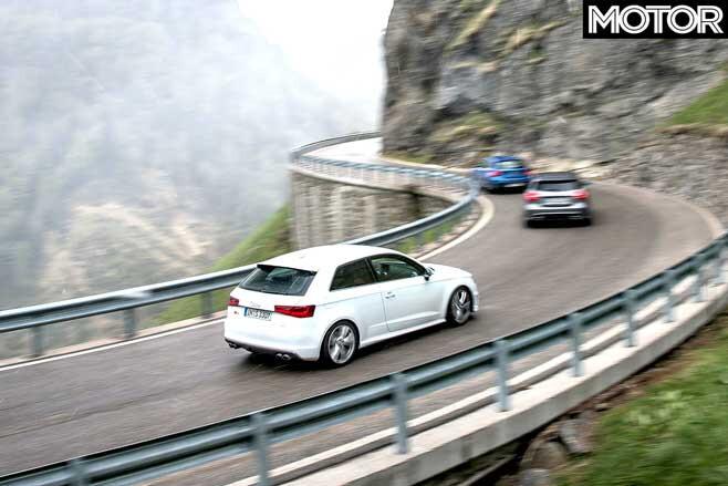 Audi S 3 Vs BMW M 135 I Vs Mercedes A 45 AMG Comparison Performance Drive Review Jpg