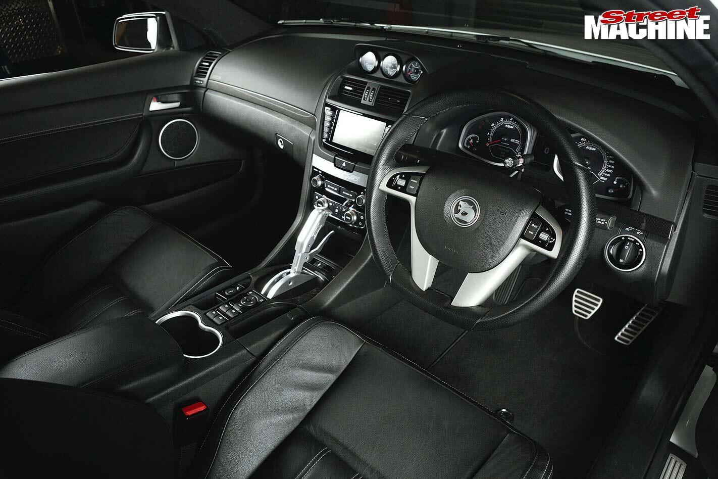 HSV GTS interior front
