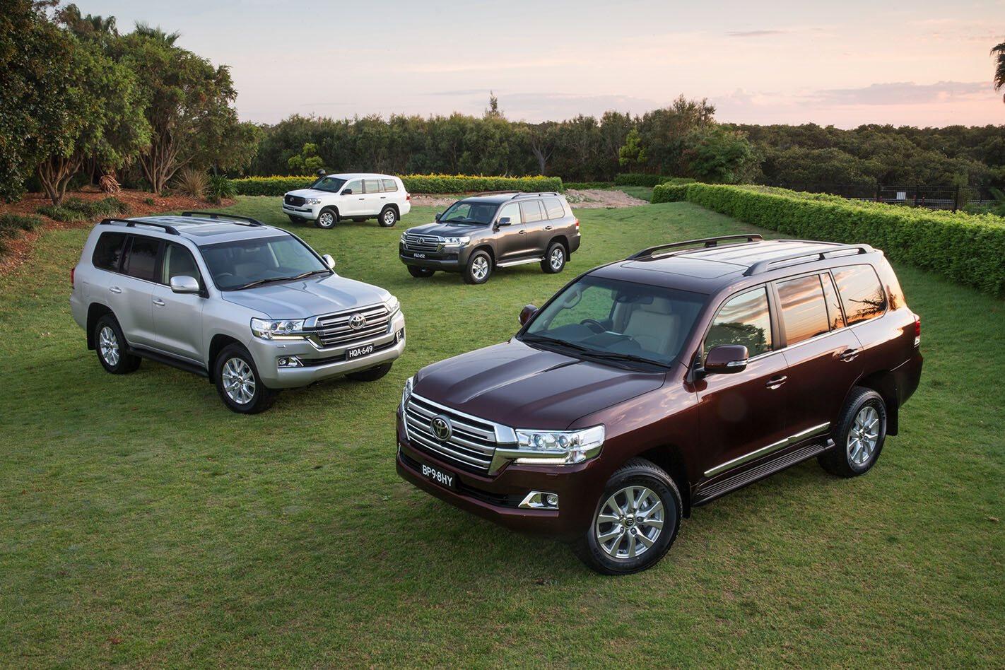 Toyota LandCruiser range