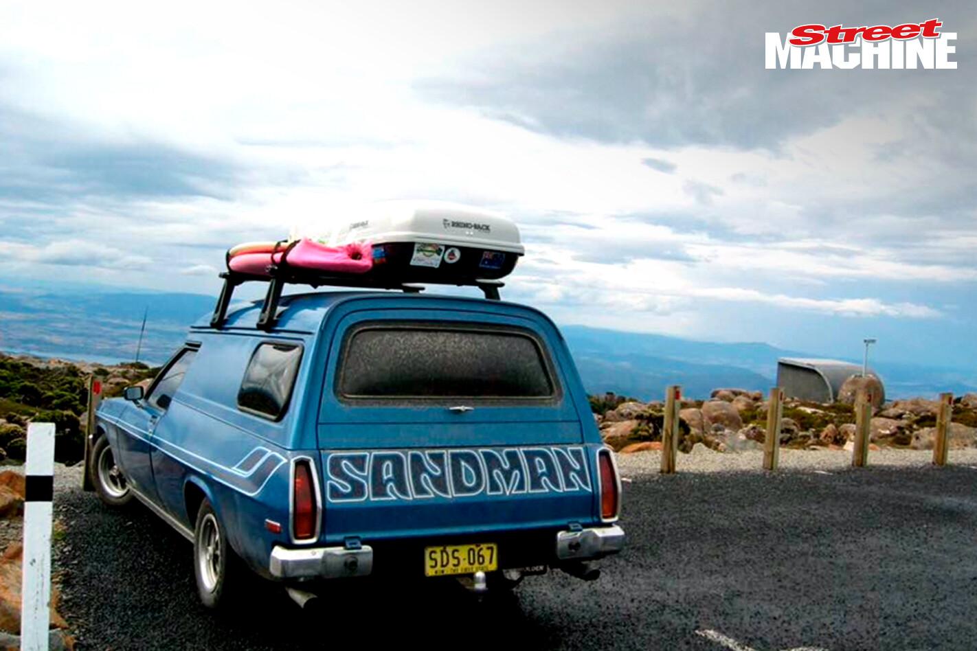 Holden Sandman Panel Van