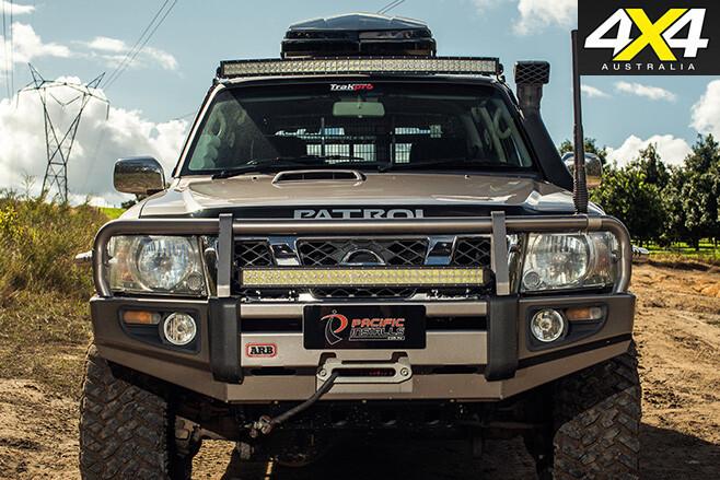Nissan Patrol Optimizer 6500 V8 frontbar