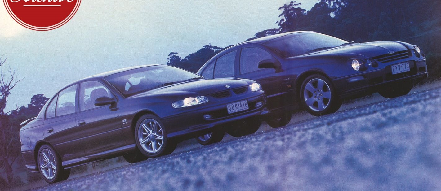 Ford Falcon XR8 v Holden Commodore SS