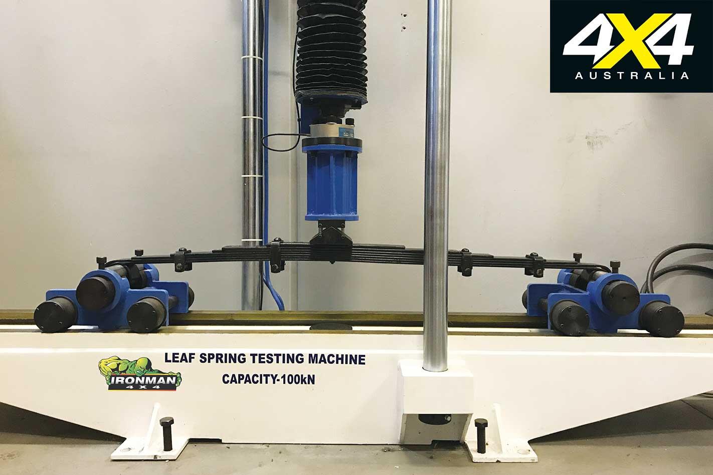4 X 4 Shock Absorbers Leaf Spring Testing Jpg