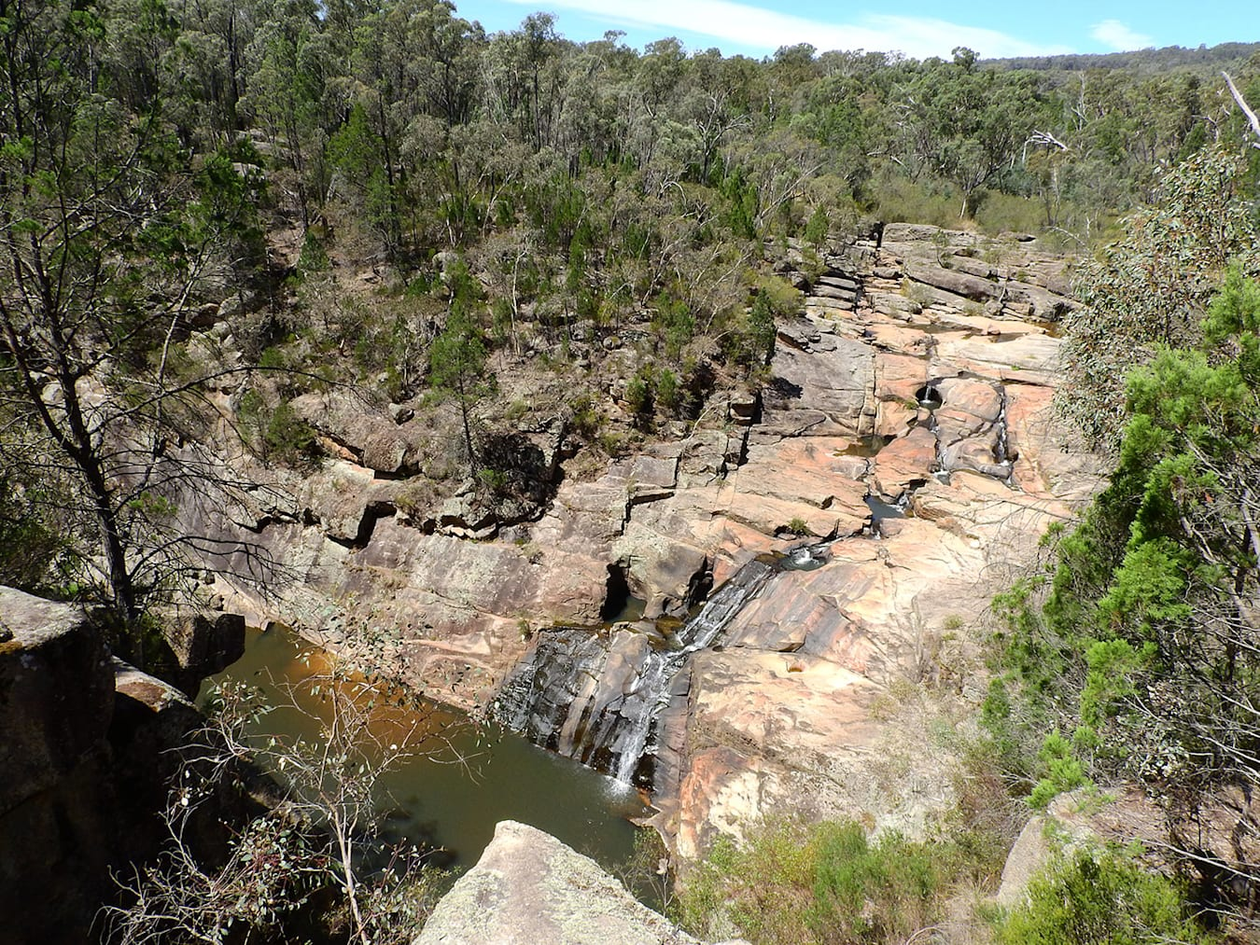 Reedy Creek - Woolshed Falls