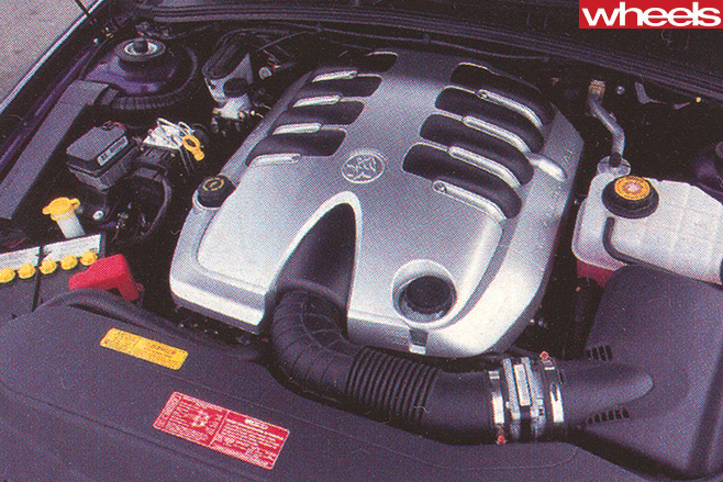 Holden -Commodore -SS-engine