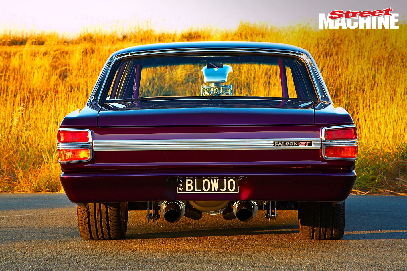 Ford XY Falcon GT Blown 1 Nw