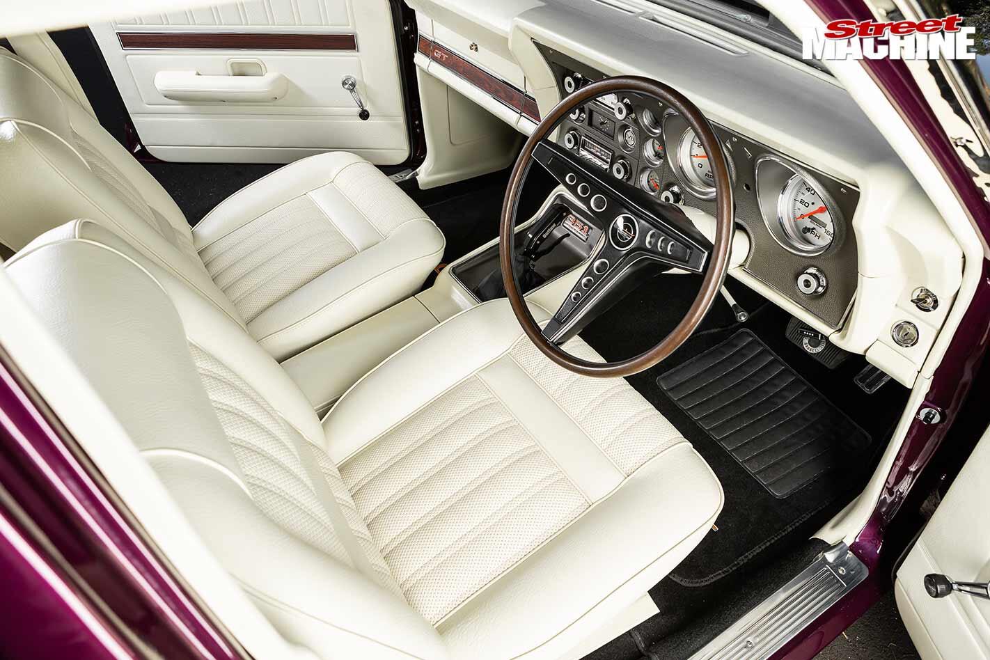 Ford XW Falcon interior