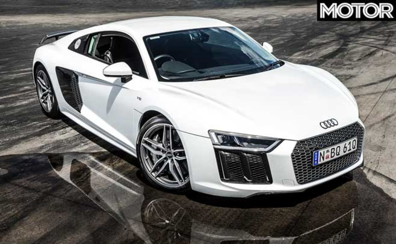Top fastest cars tested MOTOR Magazine 2017 Audi R8 V10 Plus