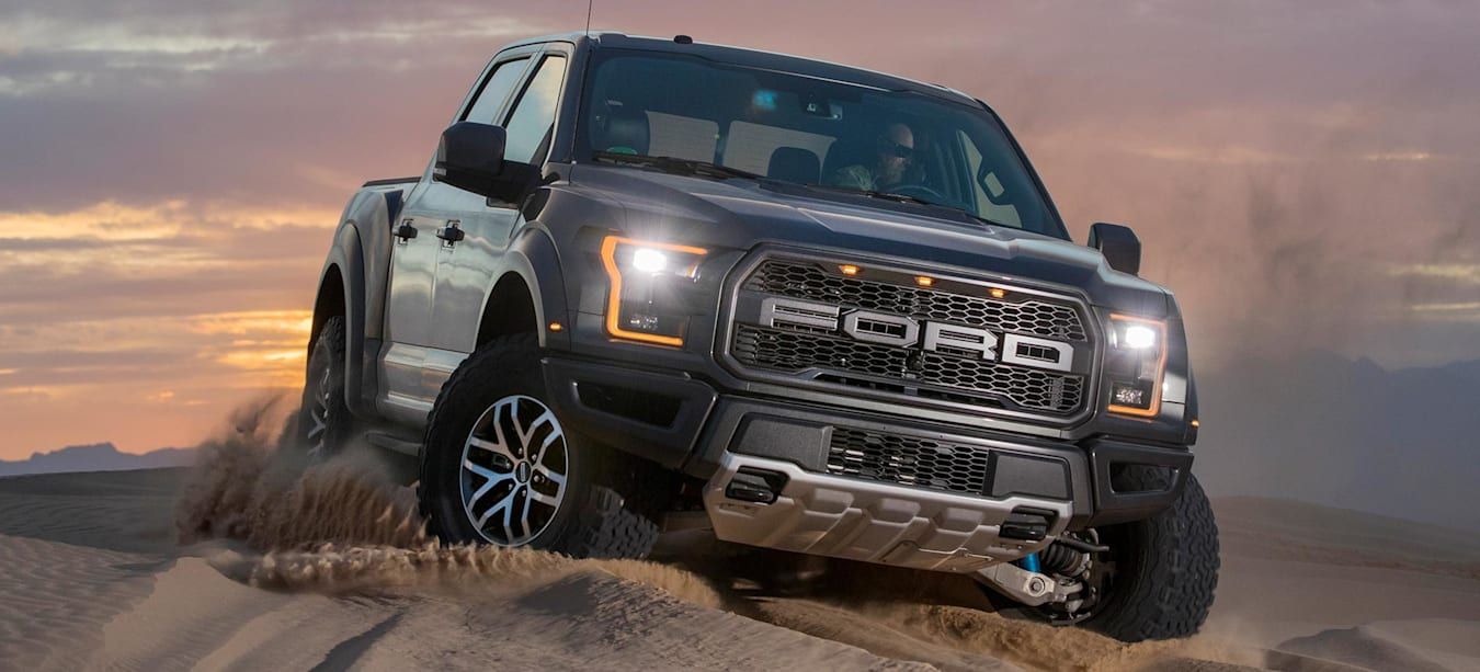 Ford F-150 Raptor supercharged V8 feature