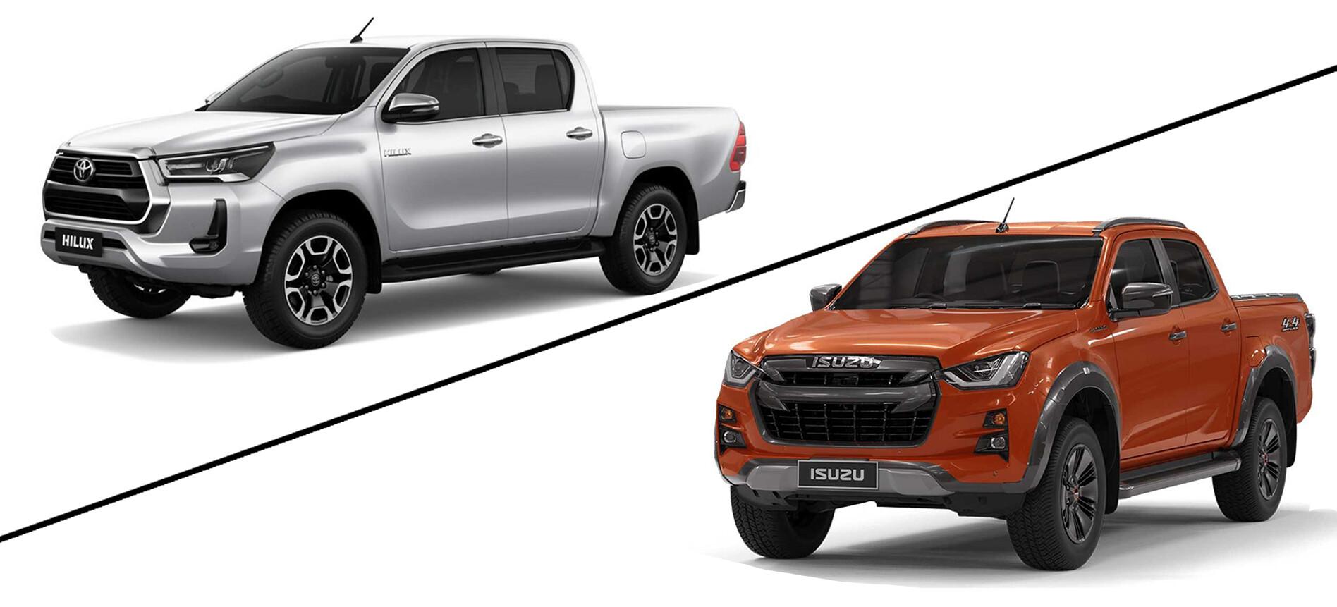 Toyota HiLux vs Isuzu D-MAX