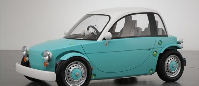 Toyota unveils 'car for kids
