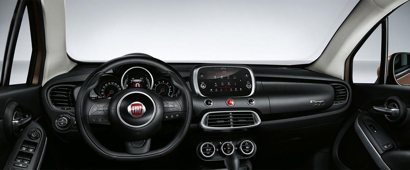 Fiat 500 X Interior Wide Jpg