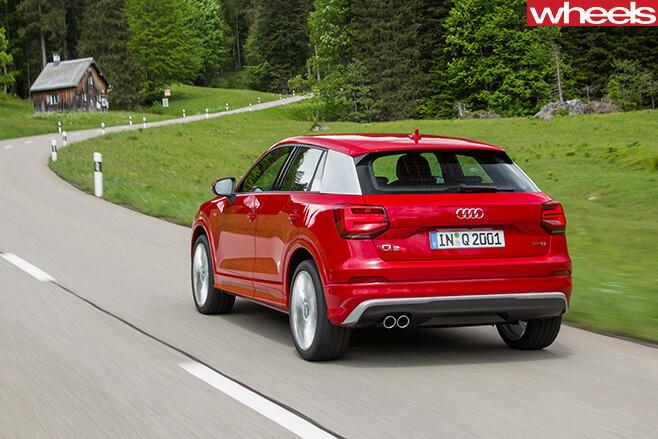 Audi -Q2-rear -side