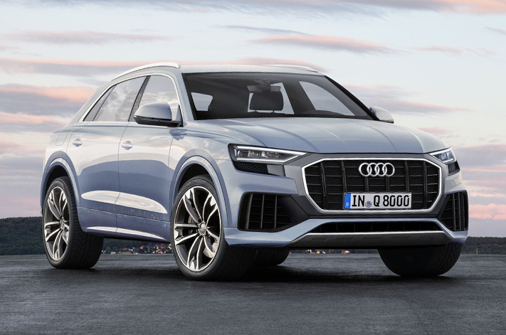 2017 Audi Q8, 2018 Audi Q4 added to production lines