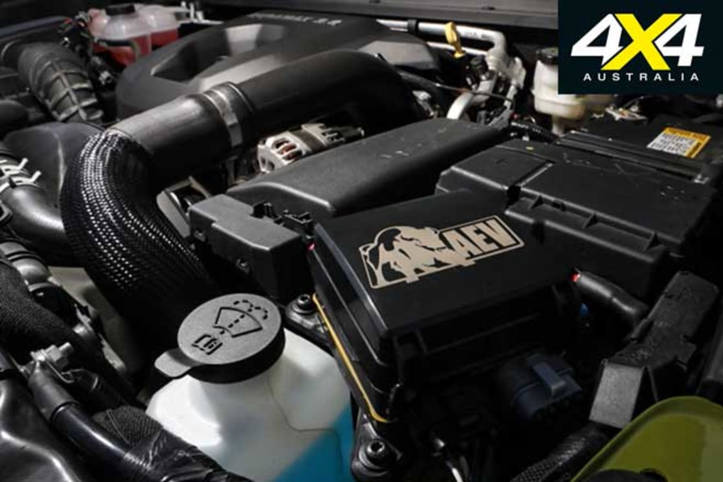 AEV Chevrolet Colorado ZR 2 Bison Engine Jpg