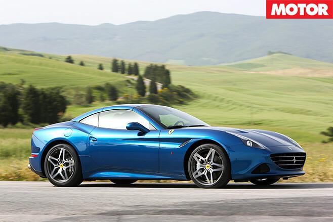 Ferrari California T side