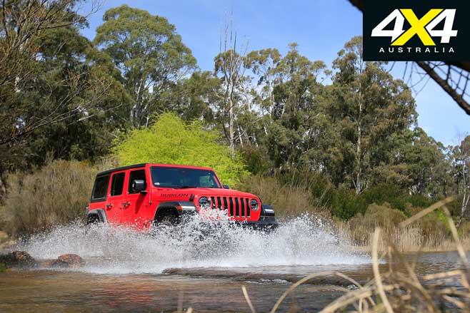 Jeep Wrangler Rubicon V 6 Water Crossing Front Jpg