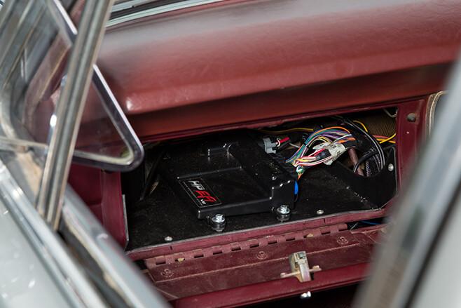 Ford XT Fairmont glove box