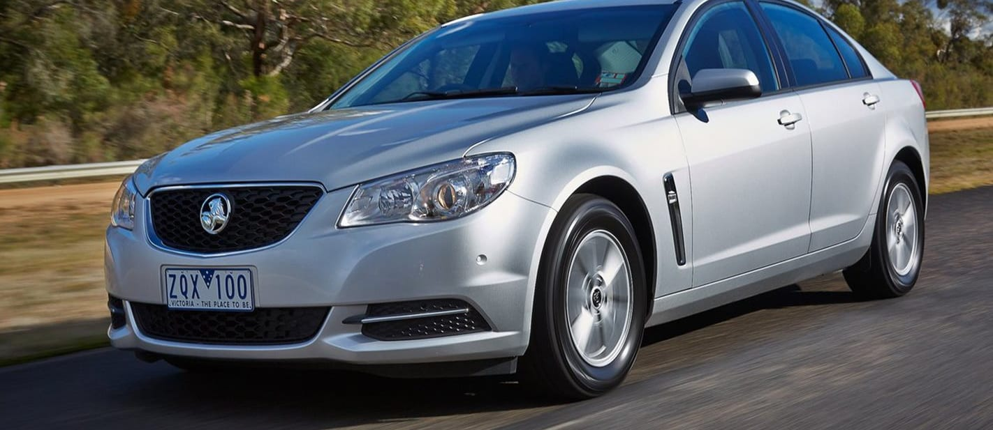 2017 Holden Commodore Front Side Jpg