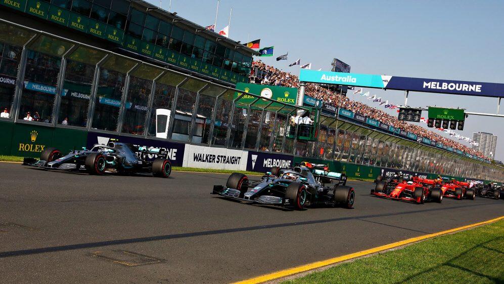 Australian Grand Prix dates