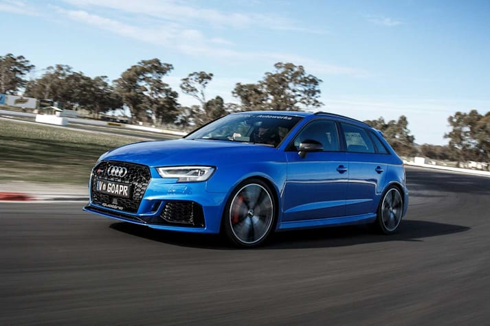 2018 Audi RS3 APR Stage 1 tune performance review