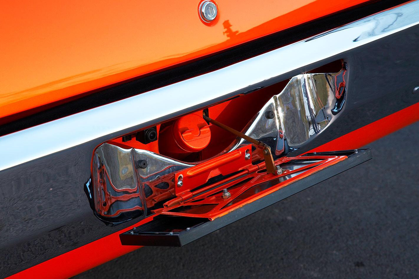 HQ Rear plate