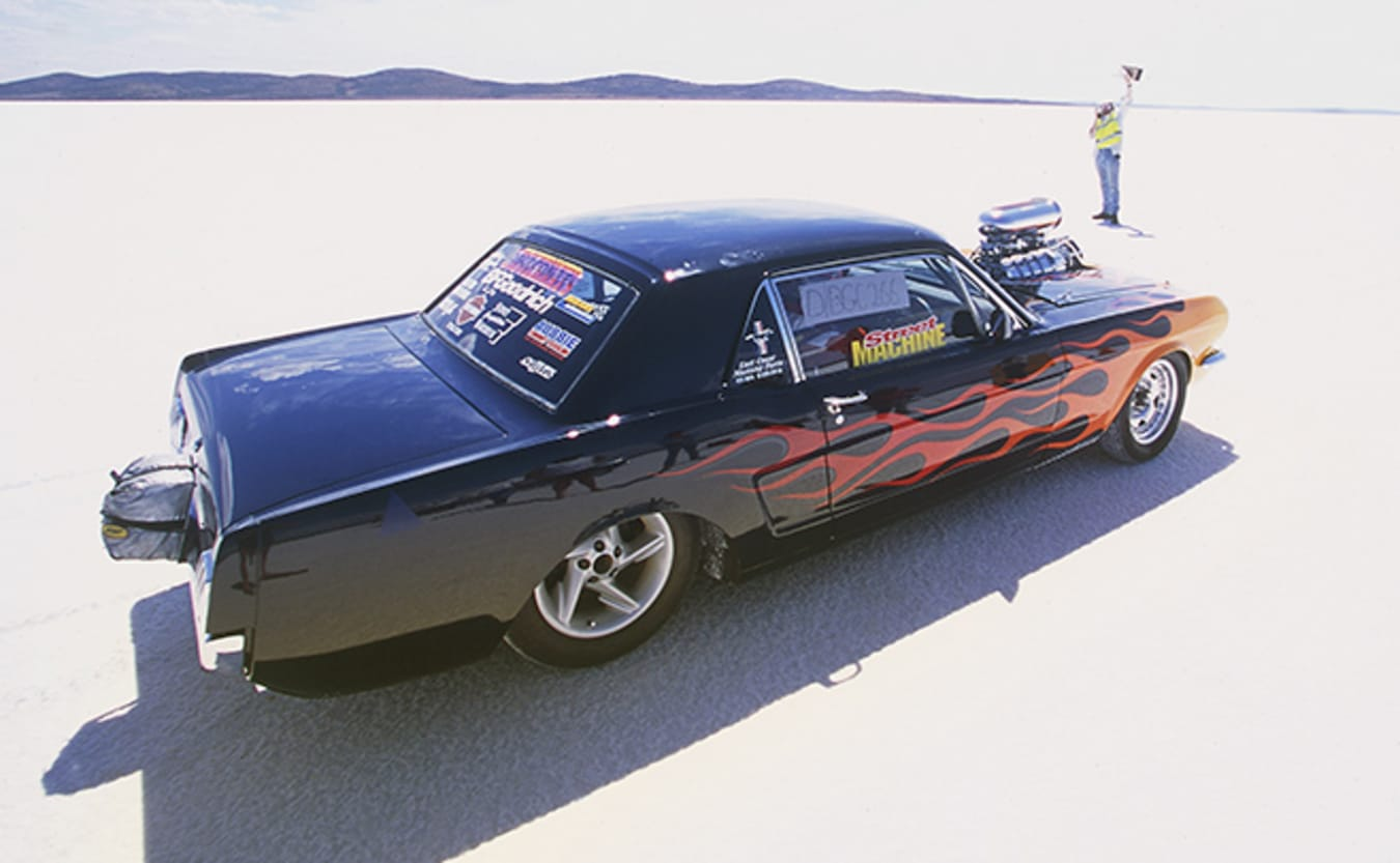 Ford Mustang coupe salt racer