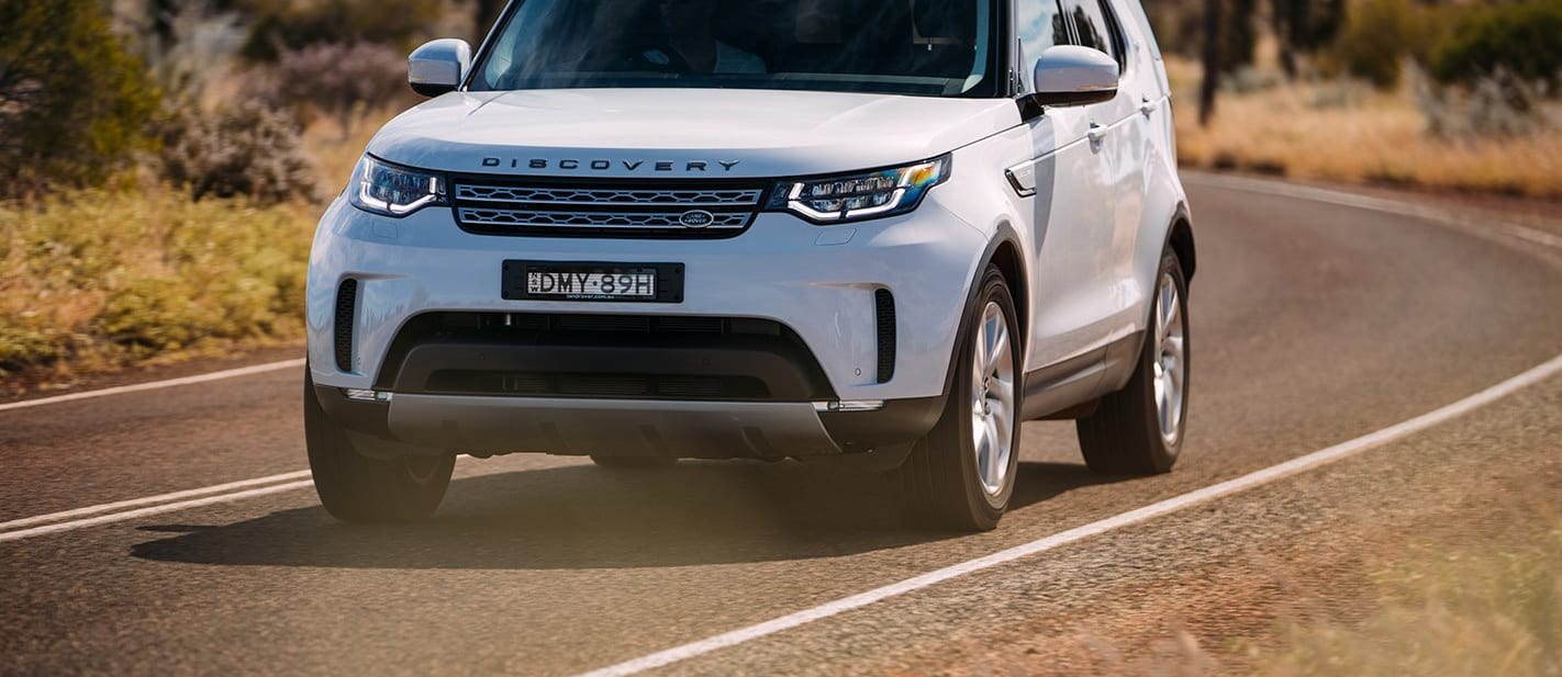 Land Rover Discovery On Road Jpg