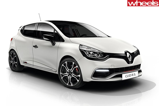 Renault -Clio -RS-front -side
