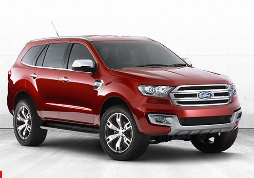 ford everest, wheels, suv