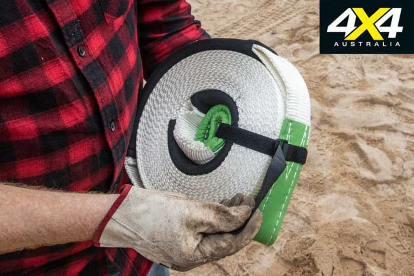 4 X 4 Kinetic Recovery Strap Package Jpg