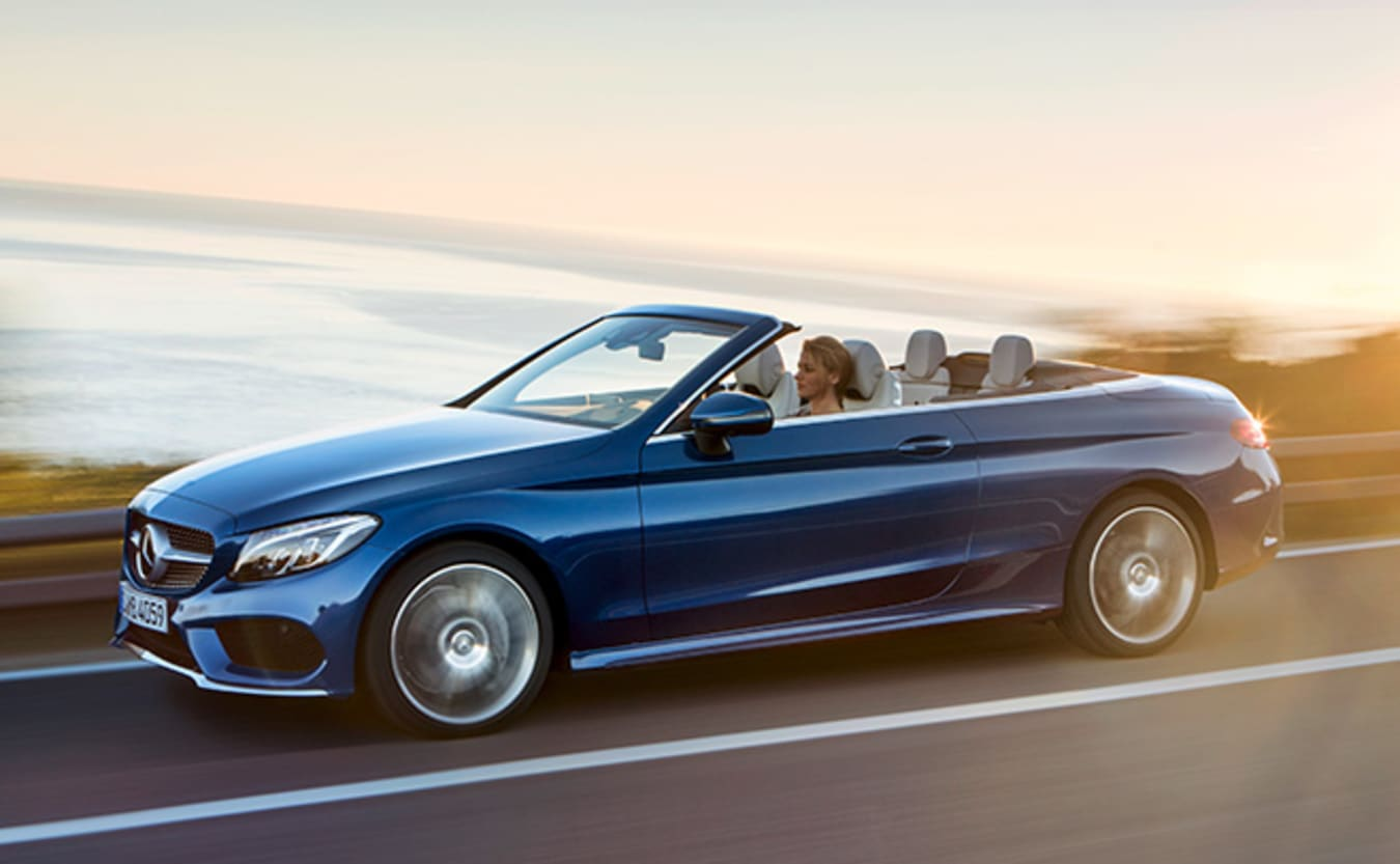 Mercedes-Benz C-Class Cabriolet front side