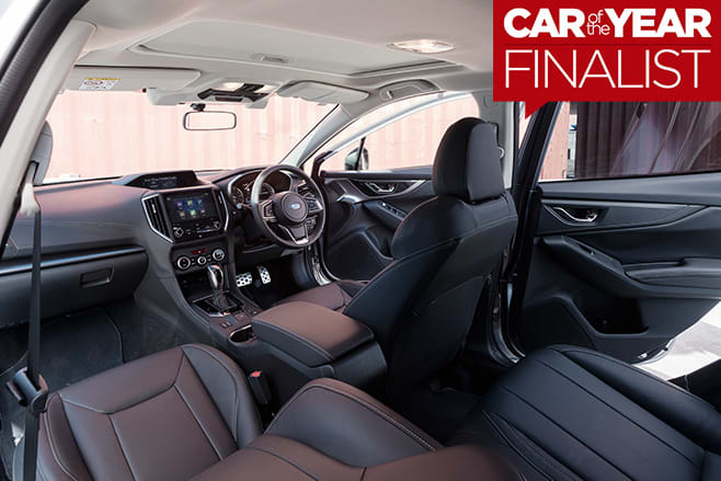 2017-Subaru -Impreza -interior