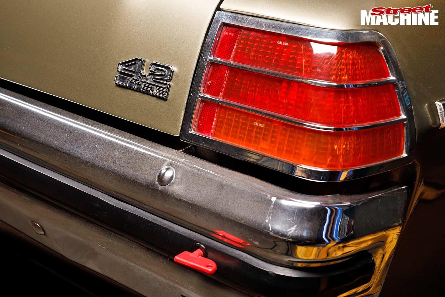 Holden HZ Kingswood tail light