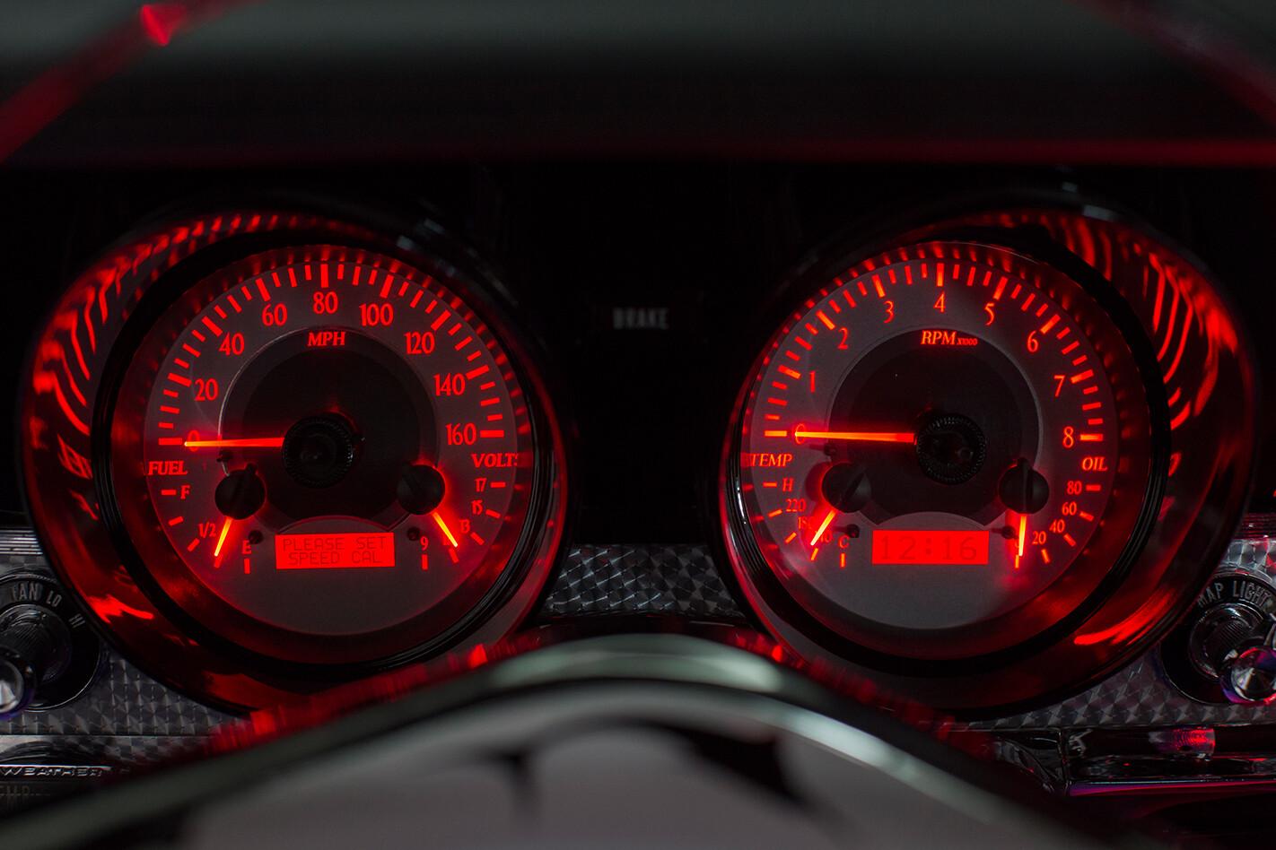 Rambler Marlin gauges