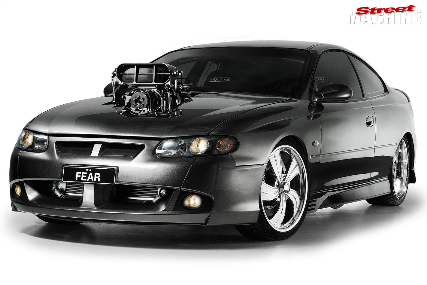 HSV GTO front