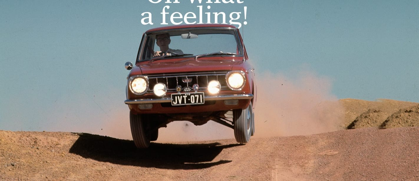 Toyota 1963 2017 Oh what a feeling