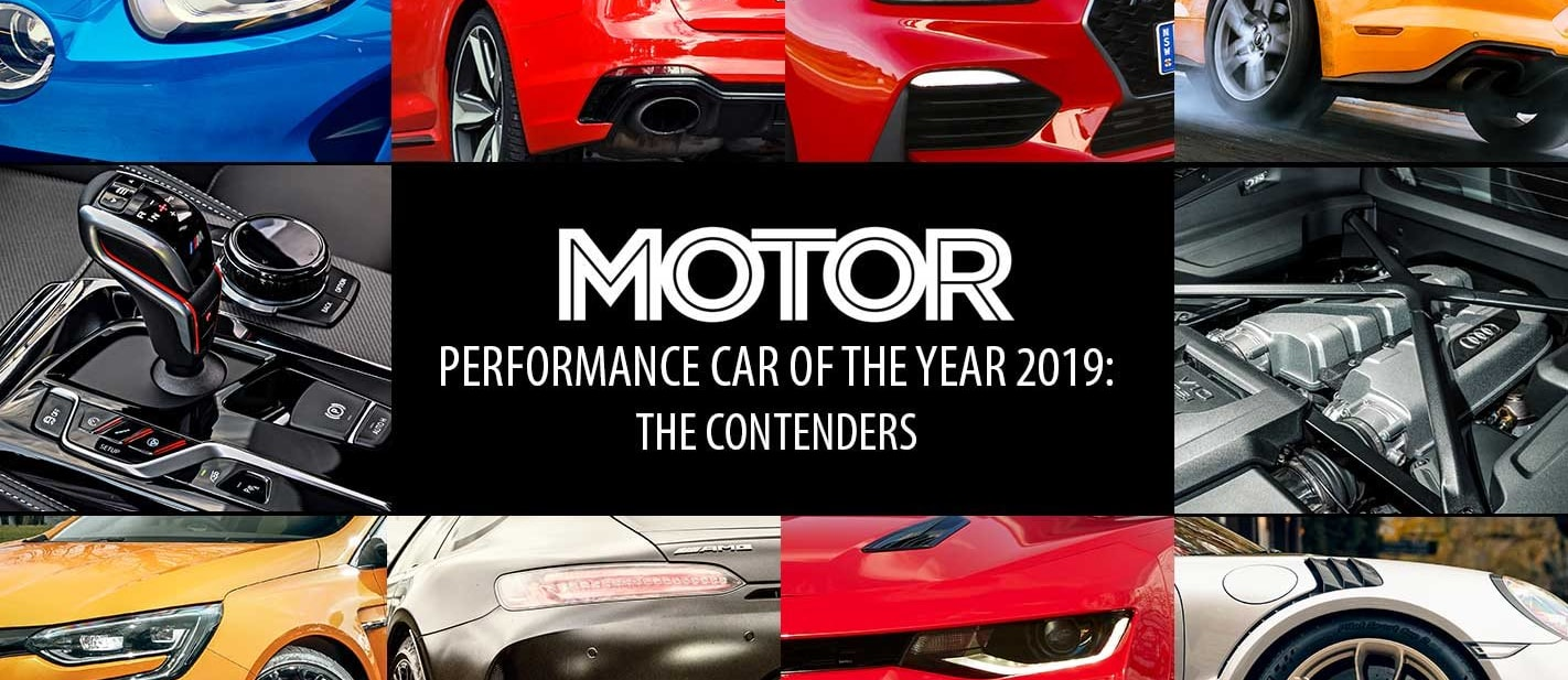 Performance Car of the Year 2019 The contenders