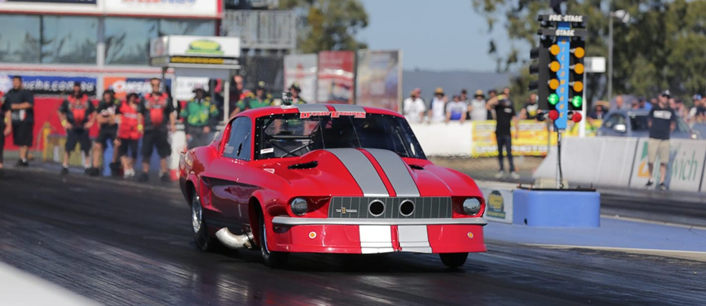 Ford Mustang Fastback Pro Street drag car