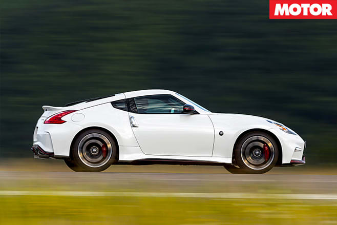Nissan 370Z Nismo front side