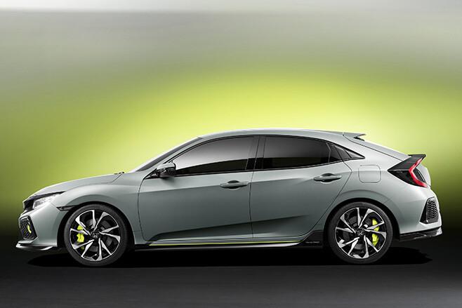 Honda Civic Hatch Side