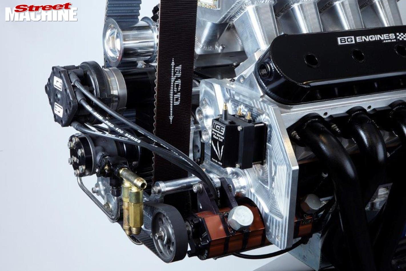 blown ls engine