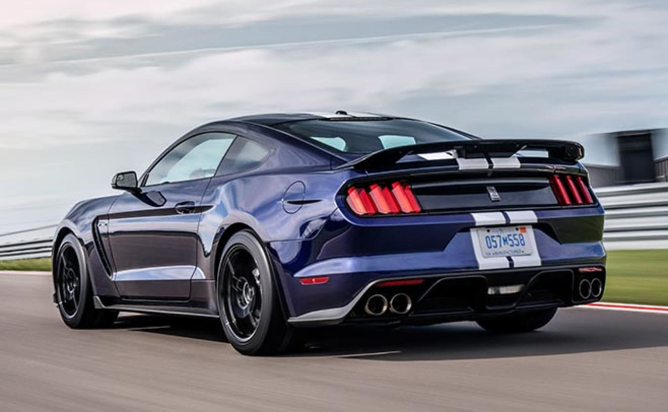 2019 Ford Mustang Shelby GT350 rear