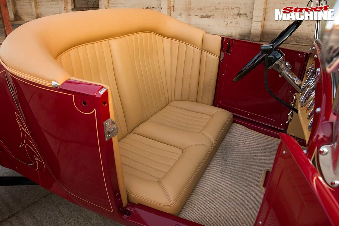 Ford Model T seats