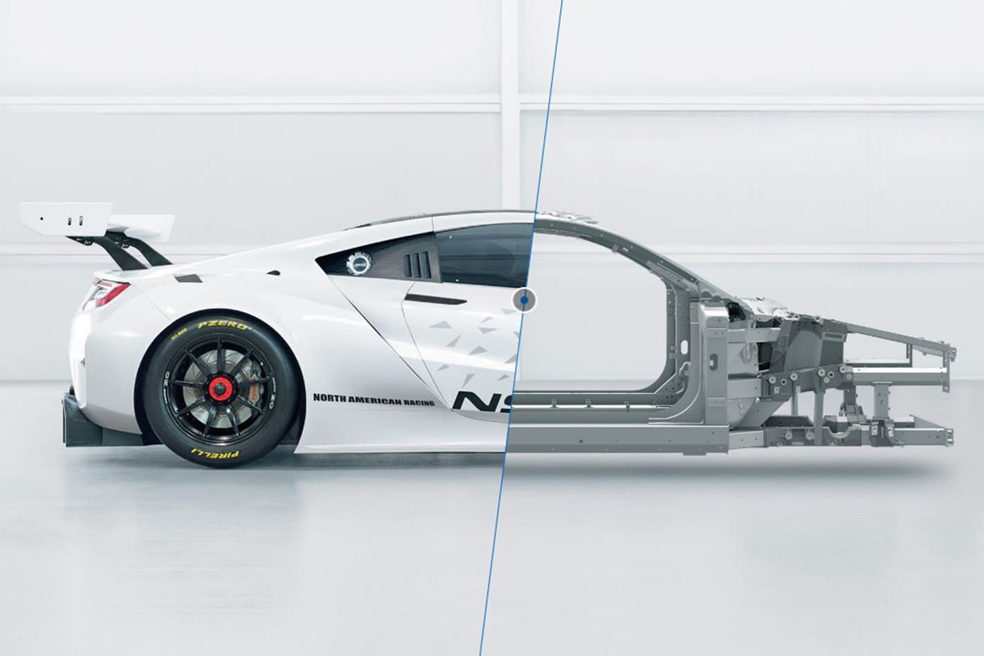 Honda NSX GT3 chassis