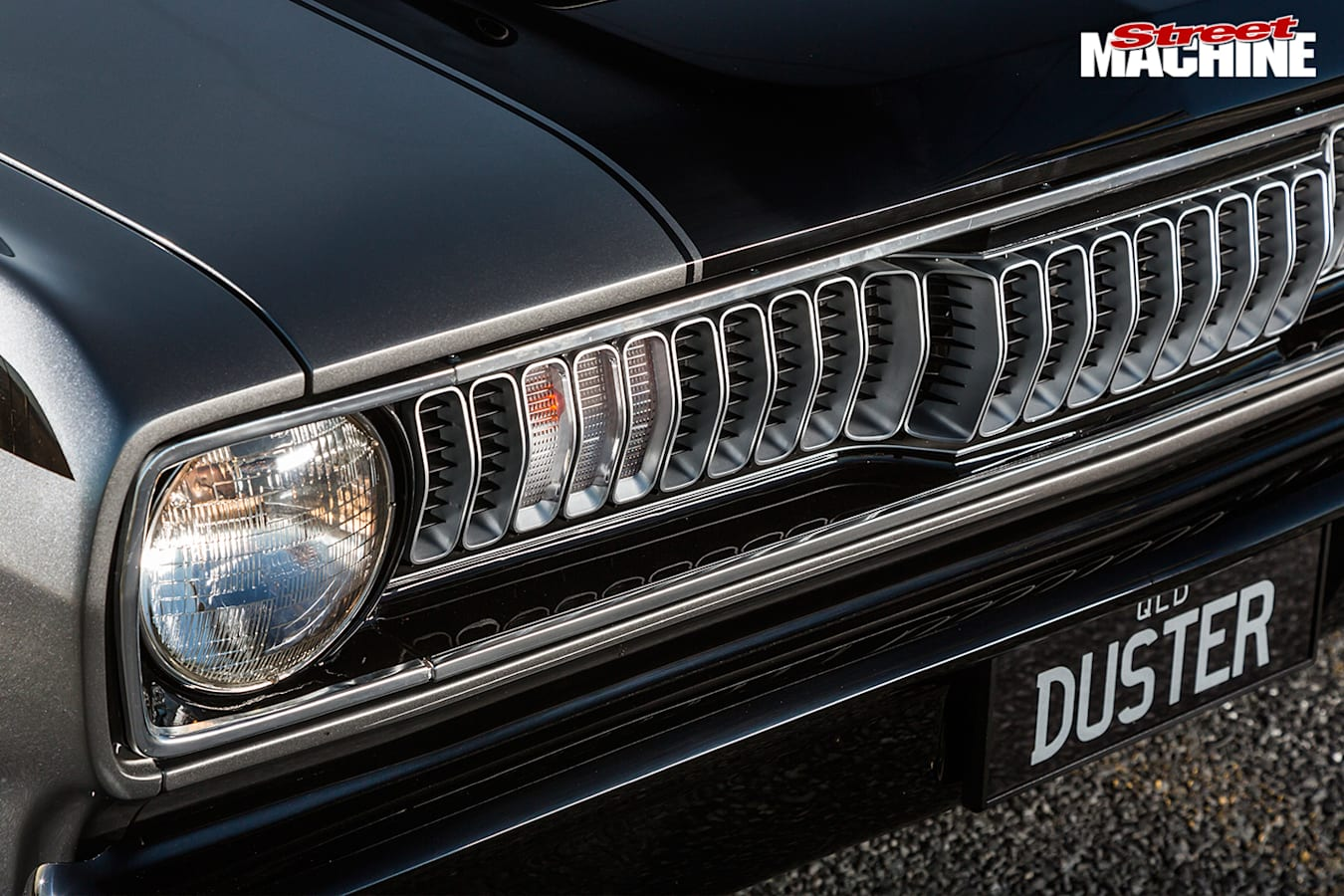 Plymouth -duster -grill -detail