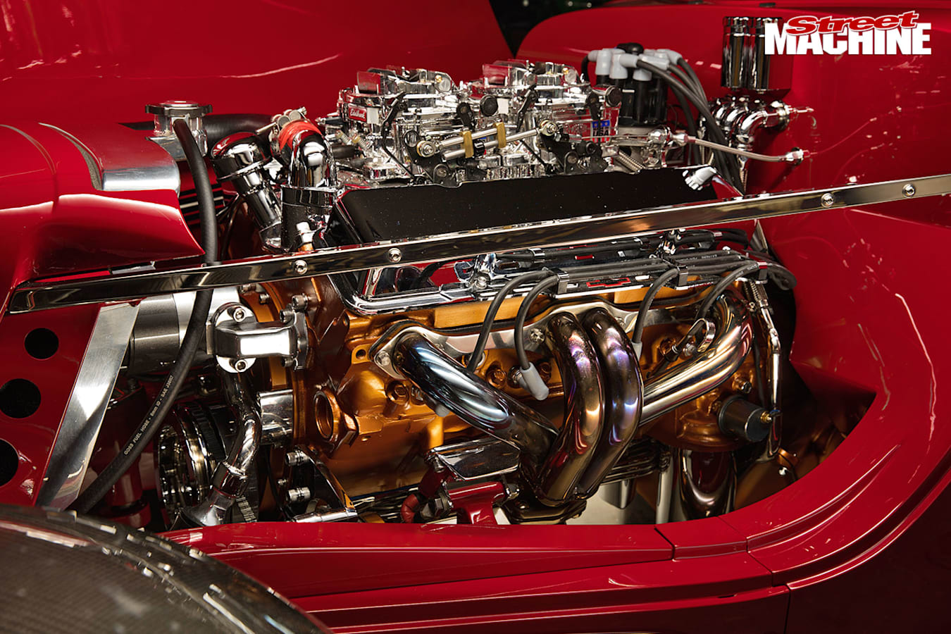 1933 Ford roadster engine