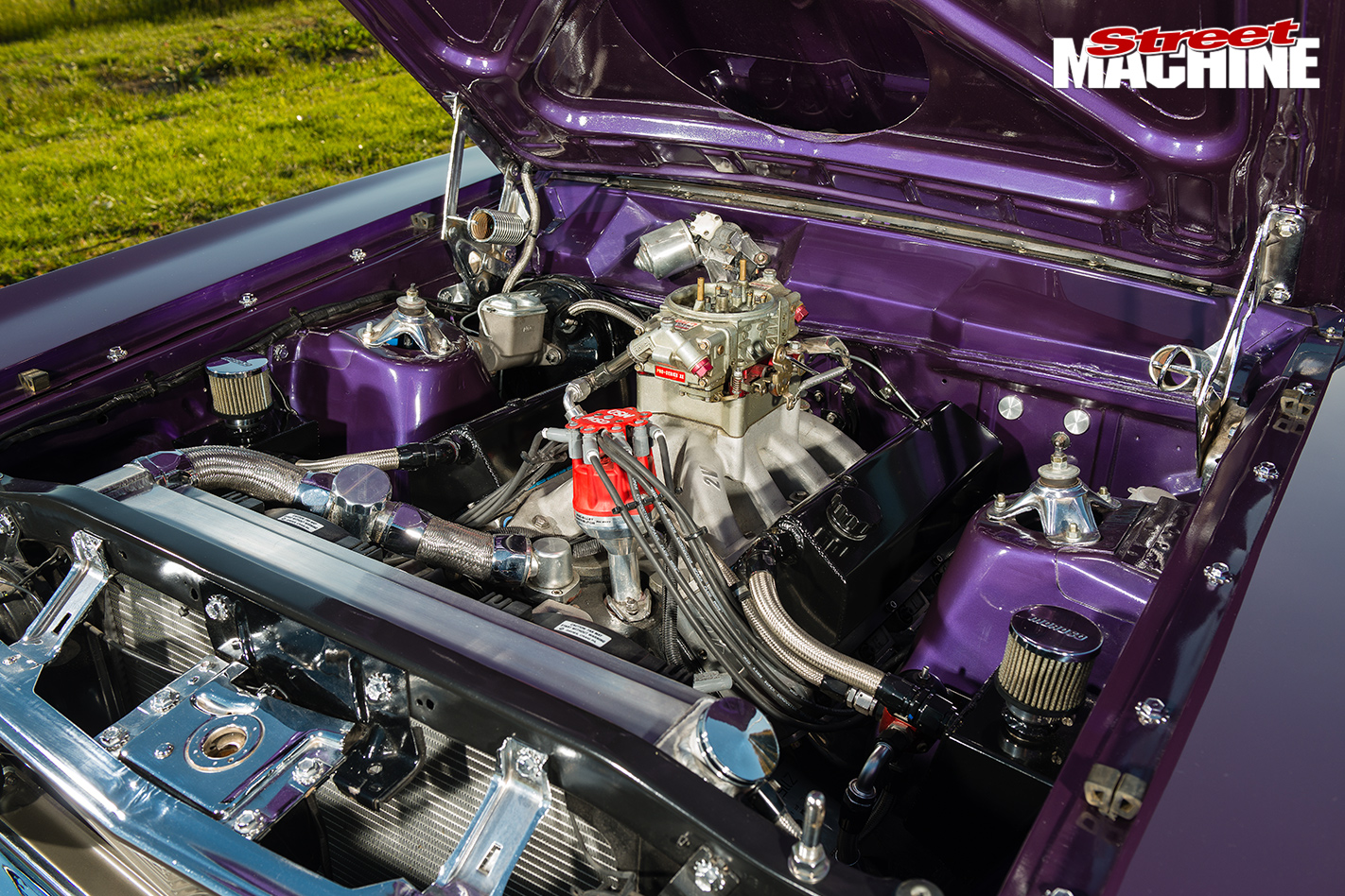 CHRIS GAUCI S 1969 FORD FALCON XY GT engine